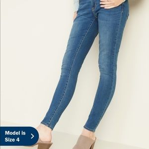 NIB Old Navy medium wash low rise jeans